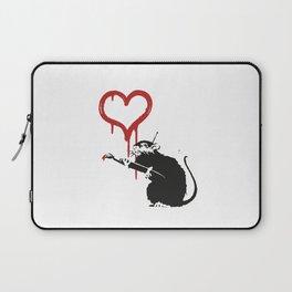 Love rat - Banksy Graffit Laptop Sleeve