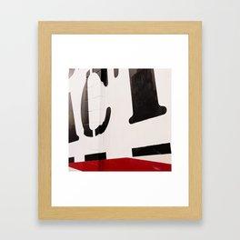 Ict_ Framed Art Print