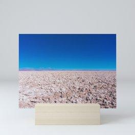 San Pedro de Atacama Salt Field, Chile Mini Art Print