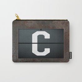 monogram schedule c Carry-All Pouch