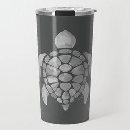 Honu - Gray/White Travel Mug