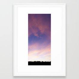 Painted Sky 2 Framed Art Print