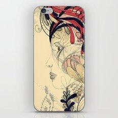 flame flower iPhone & iPod Skin