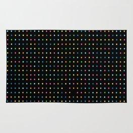 Neon Preppy Print Rug