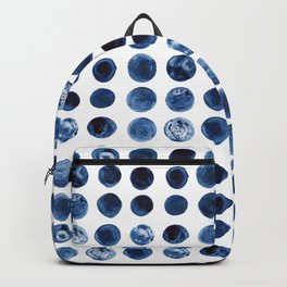 Blueberries | Watercolour Pattern Backpack