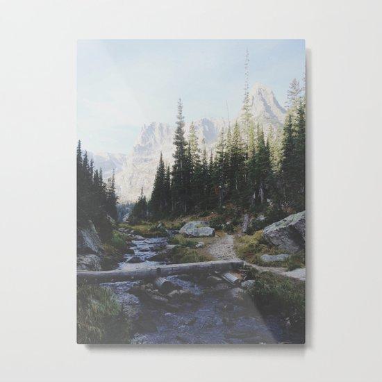 Rocky Mountain Creek Metal Print