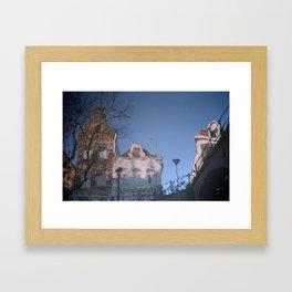 Dutch canal Framed Art Print