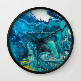 Fluid Memories - Limited Edition Wall Clock
