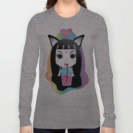 Slushy Kitty Long Sleeve T-shirt