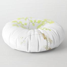 Maidenhair Fern Floor Pillow