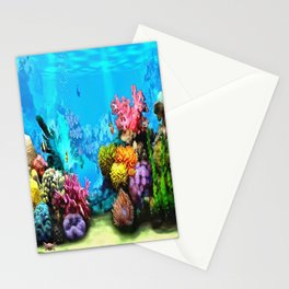 Marine Life Stationery Cards