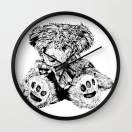 Teddy Wall Clock