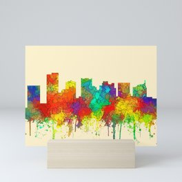 Scottsdale, Arizona Skyline - SG Mini Art Print