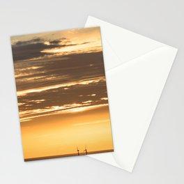 Isle of Anglesey Windmill Sunset over Irish Sea Stationery Cards