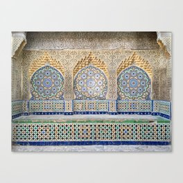 Moroccan Tile Canvas Print