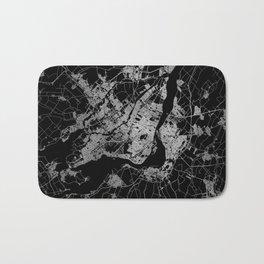 montreal map Bath Mat