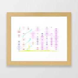 Mapping Framed Art Print