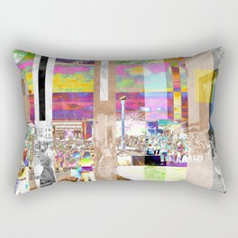 Art Show Montage Rectangular Pillow