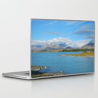 new zealand Laptop & iPad Skins featuring New Zealand by PeteJoey