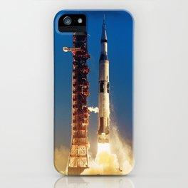 "Apollo Saturn V ""LIFTOFF"" 1967 iPhone Case"