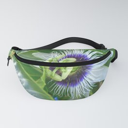 Passiflora - Passion fruit unique flower Fanny Pack