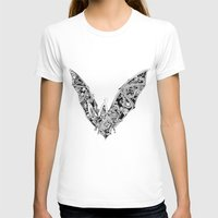 bat T-shirts featuring Bat by Gwyn Hockridge