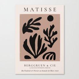 Henri Matisse Print, Matisse Exhibition Poster, Matisse Leaf Canvas Print