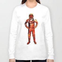 Astronaut James Long Sleeve T-shirt