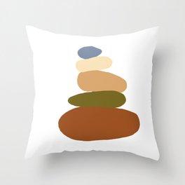 Balanced 2 Throw Pillow
