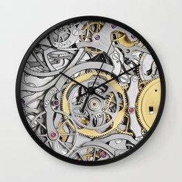 Watch Mechanism Wall Clock