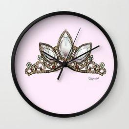 Rapunzel's Crown Wall Clock