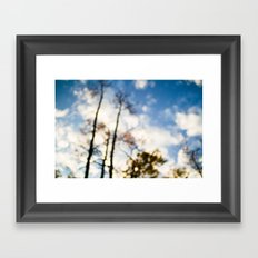 looking up . iii Framed Art Print