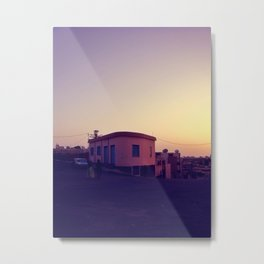 Asmara Sunset Metal Print