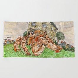 Hermit Apocalypse Beach Towel