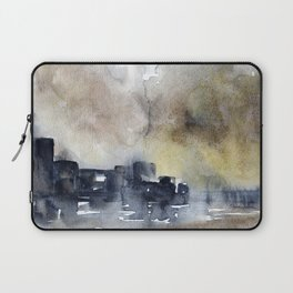 Abstract City Laptop Sleeve