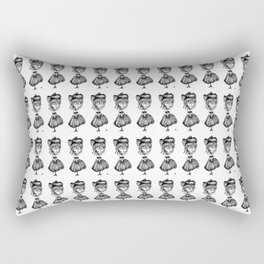 Spunky-Tot,  August Ghoul #5   Rectangular Pillow