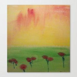 Awashed Canvas Print