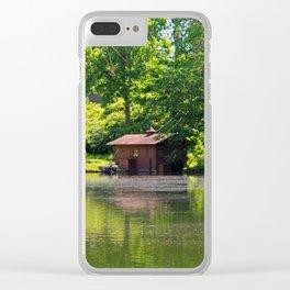 Hidden Memories Clear iPhone Case