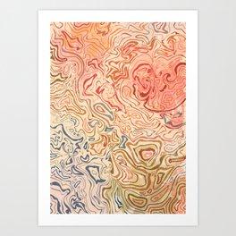 Rock Pool Art Print