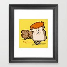 Ginger Bread Framed Art Print