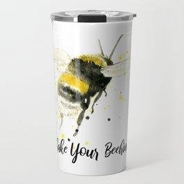 Shake Your Beehind - Punny Bee Travel Mug