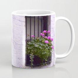 Pink Flower Box Coffee Mug