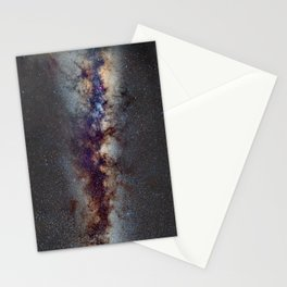 The Milky Way: from Scorpio, Antares and Sagitarius to Scutum and Cygnus Stationery Cards