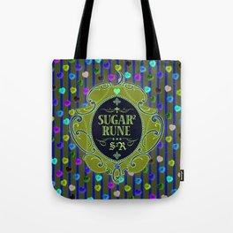 Sugar Sugar Rune Crystal Hearts Tote Bag