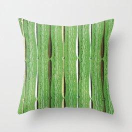 Vintage woodblock print of Japanese textile from Shima-Shima (1904) by Furuya Korin 142 Throw Pillow