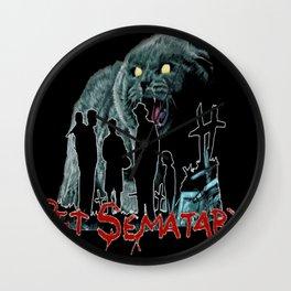 Pet Sematary Wall Clock