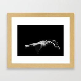 Nala/Olympia: A Case Study - Death of the Virgin Framed Art Print