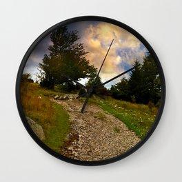 Grayson Highlands Path Wall Clock