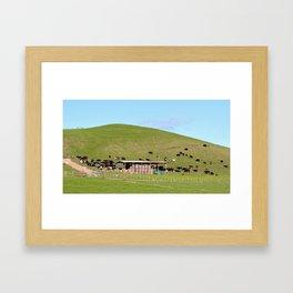 Cowzonhil Framed Art Print