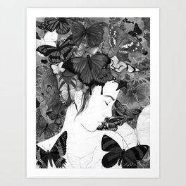Beauty Within Despair Art Print